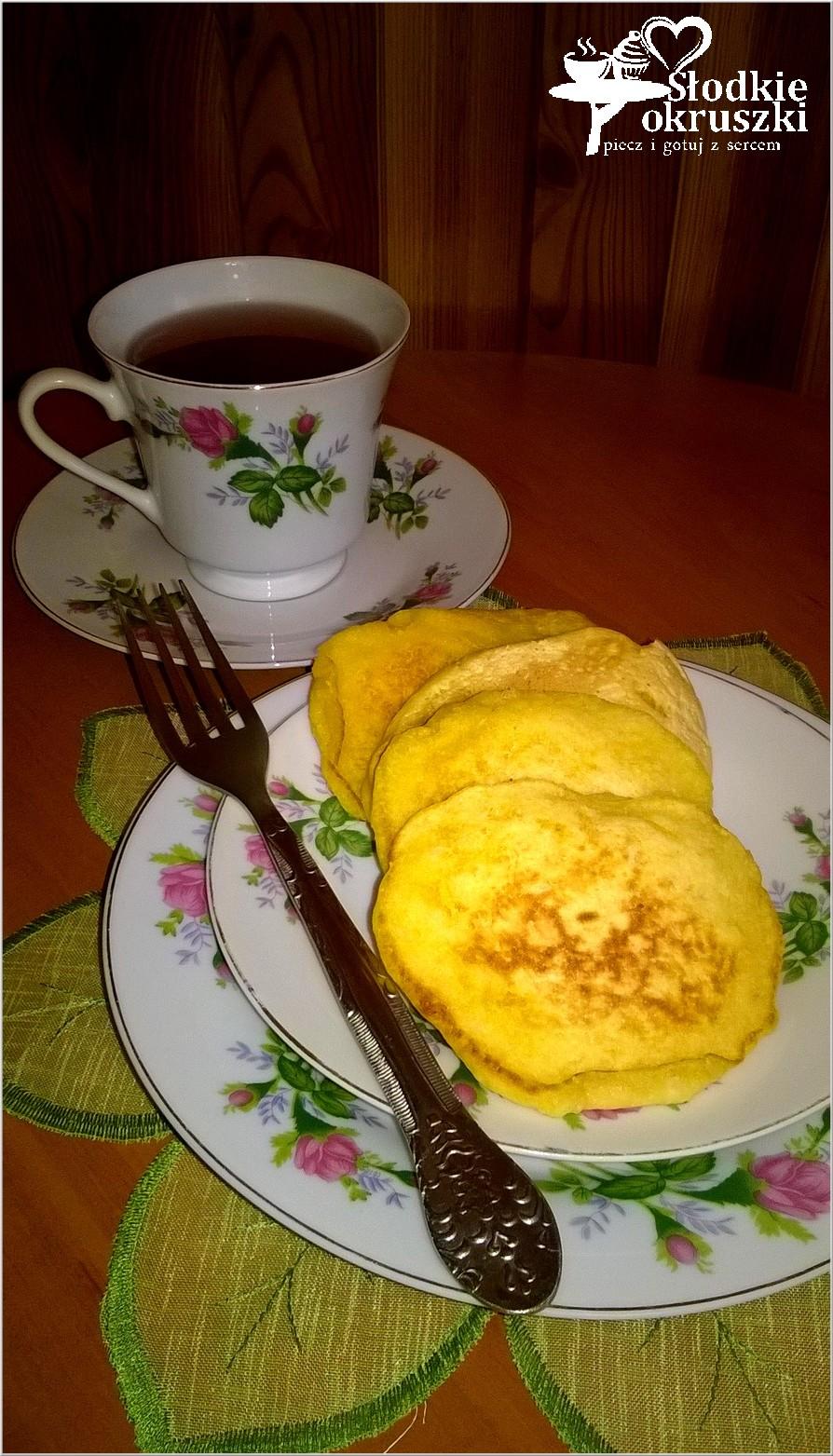 Kokosowo dyniowe placuszki śniadaniowe.
