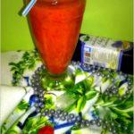 Orzeźwiający grejfrutowo-owocowy koktajl (z olejem lnianym)