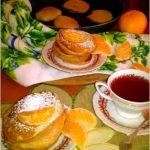 Placuszki na bazie soku z jabłek i granatu