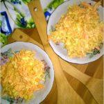 Pyszna surówka z marchewki i pora. Idealna surówka do obiadu.