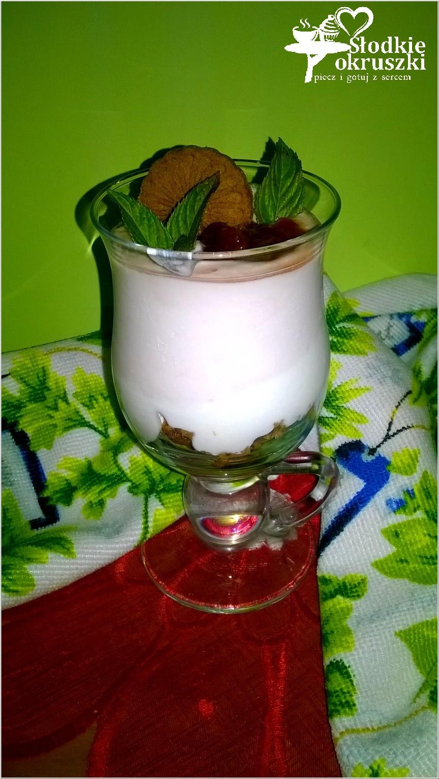 Pyszny deser z ricottą