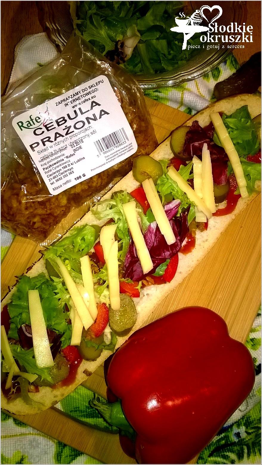 Szybka zapiekanka z warzywami i prażoną cebulką od Rafex