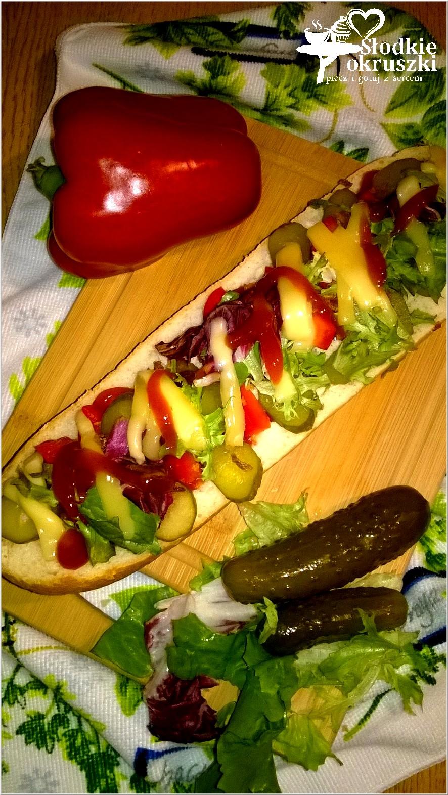 Szybka zapiekanka z warzywami i prażoną cebulką