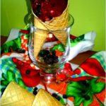 Szybkie i zdrowe domowe lody jagodowe