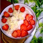 15 minutowy deser owocowo-ryżowy