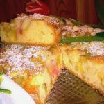 Najlepsze ciasto rabarbarowo-jabłkowe