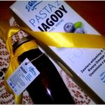 Jagodowa pasta, jagodowe zdrowie. Współpraca z LiQberry.