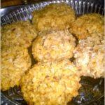 Kokosowe orzeszki. Ciasteczka bez mąki.