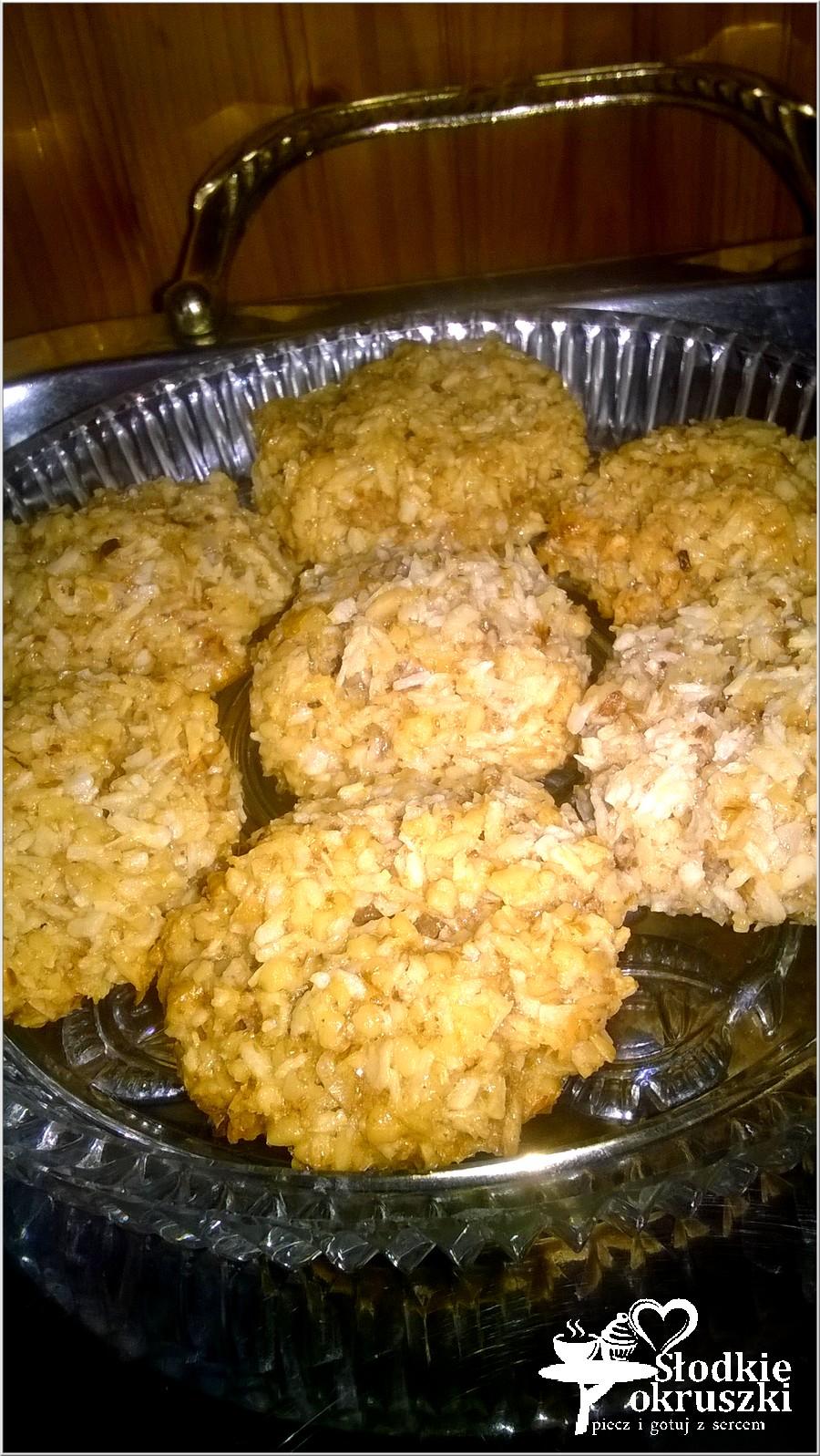 Kokosowe orzeszki. Ciasteczka bez mąki (5)