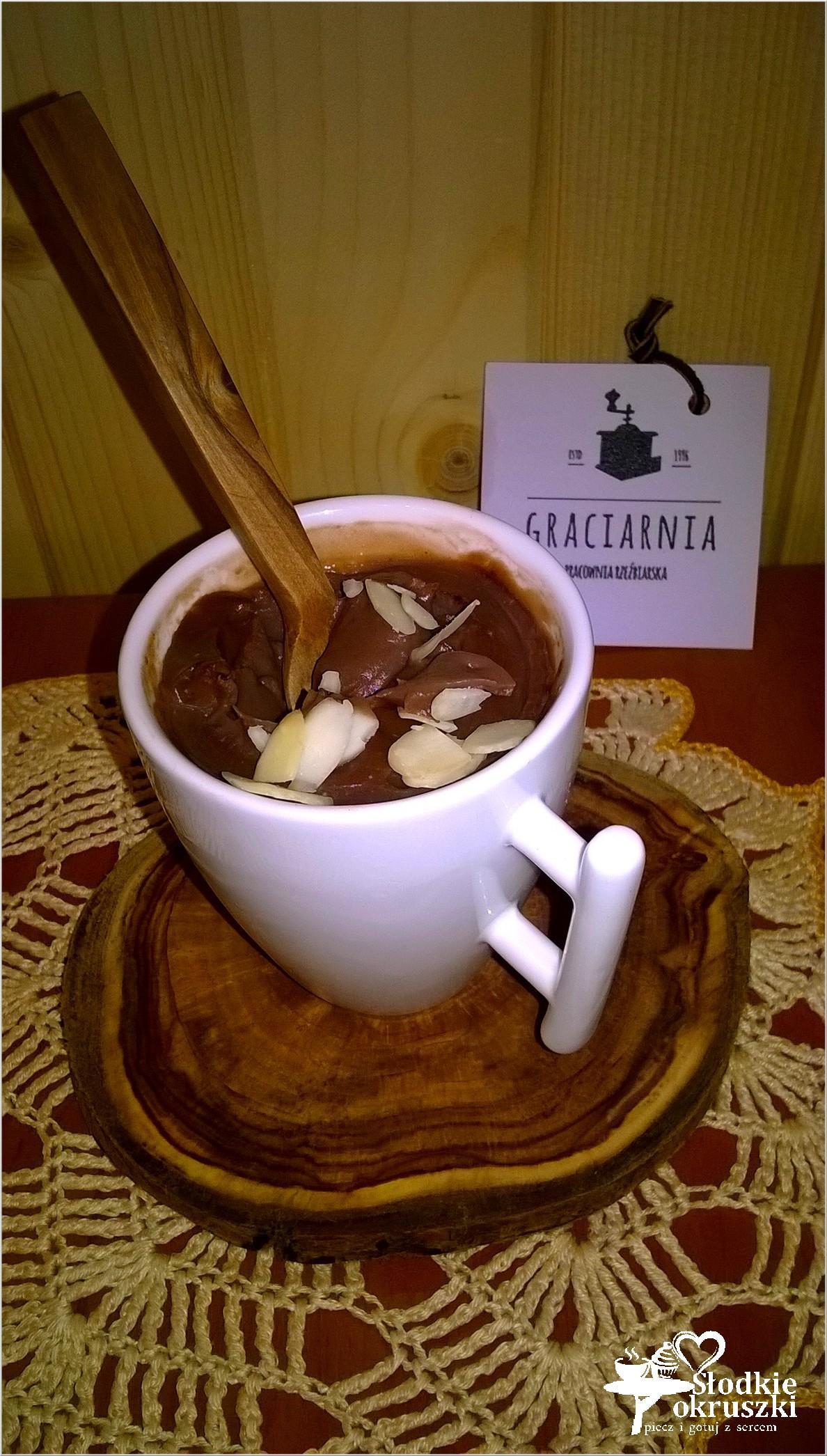 Mocno czekoladowy budyń domowy