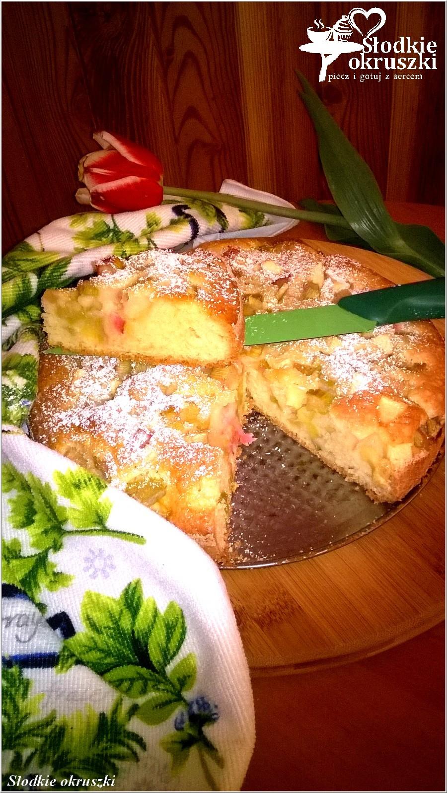 Najlepsze ciasto rabarbarowo-jabłkowe (4)