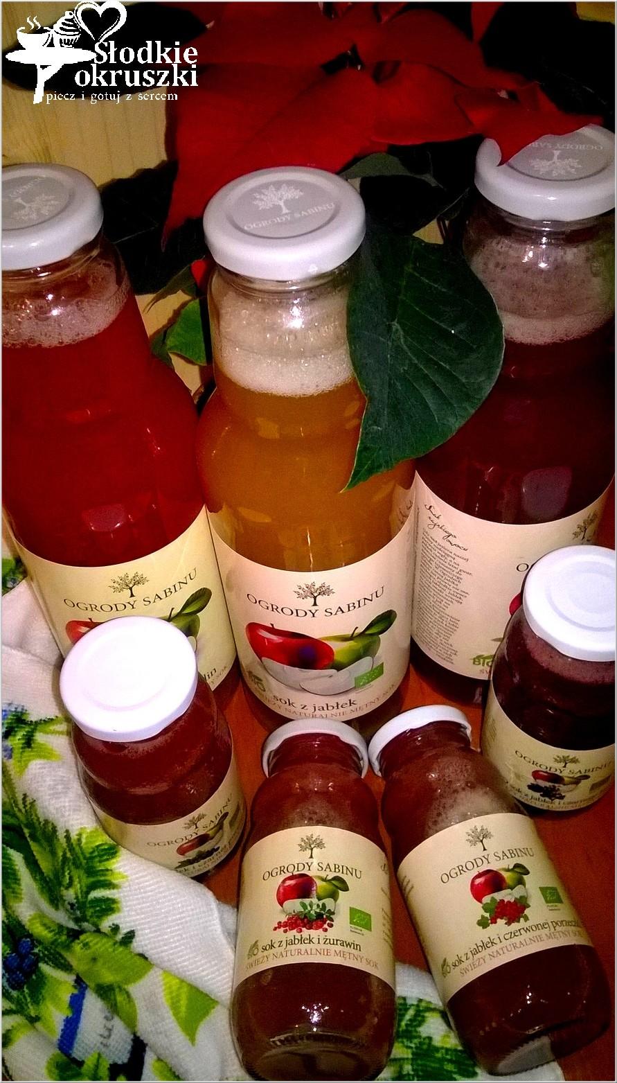 Natura, smak i zdrowie. Ogrody Sabinu - soki, które warto polecić!