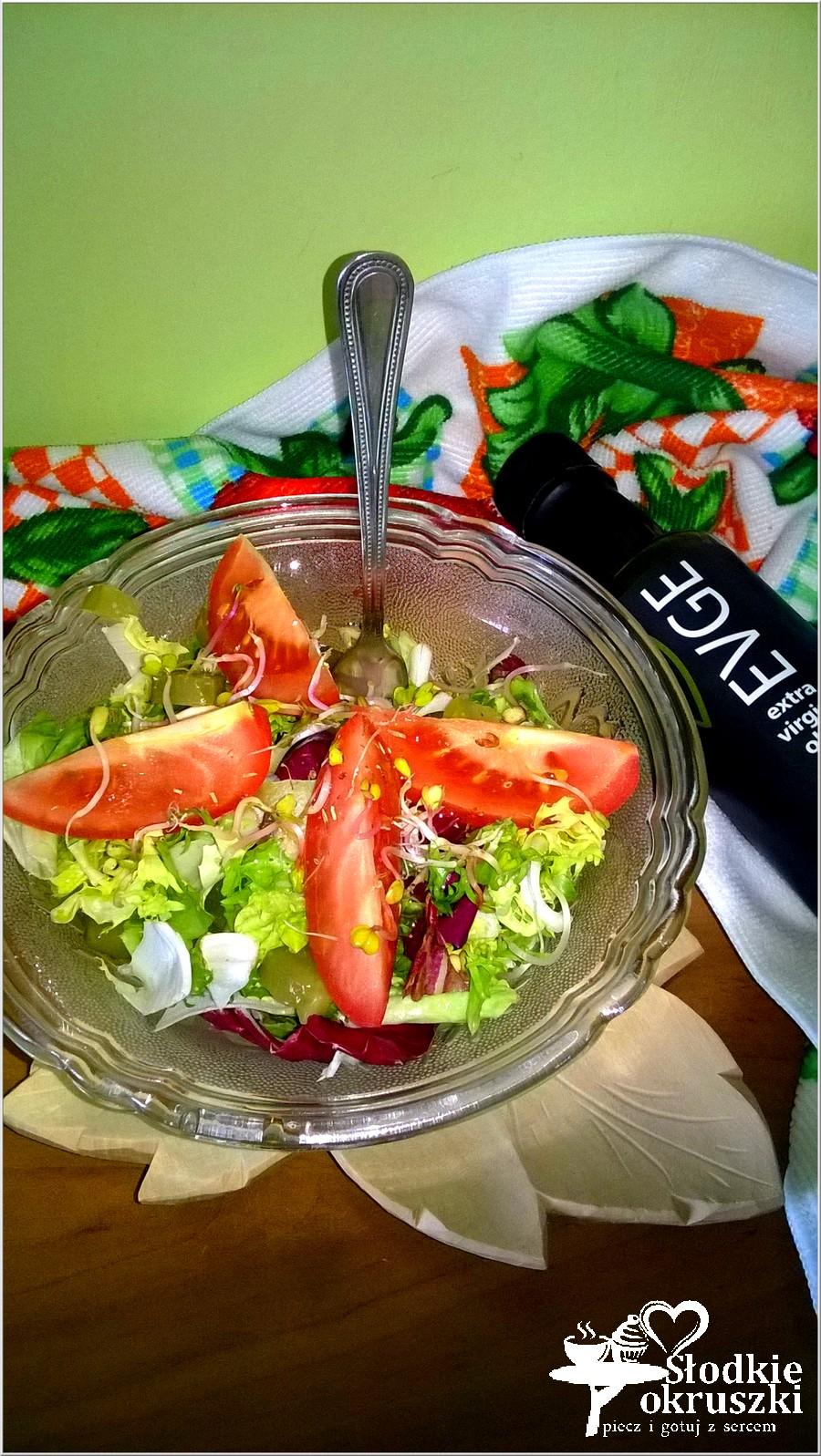 Prosta i zdrowa sałatka wiosenna (2)