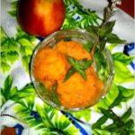 Sorbet owocowy (truskawka, morela, nektarynka)