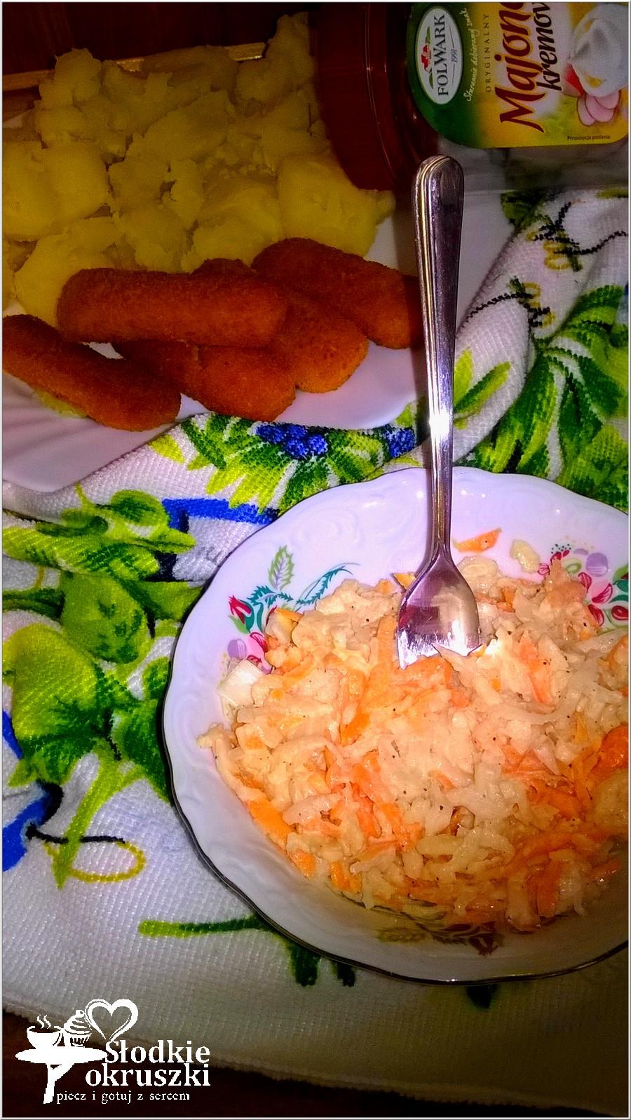 Surówka z białej rzodkiewki (z majonezem) (2)