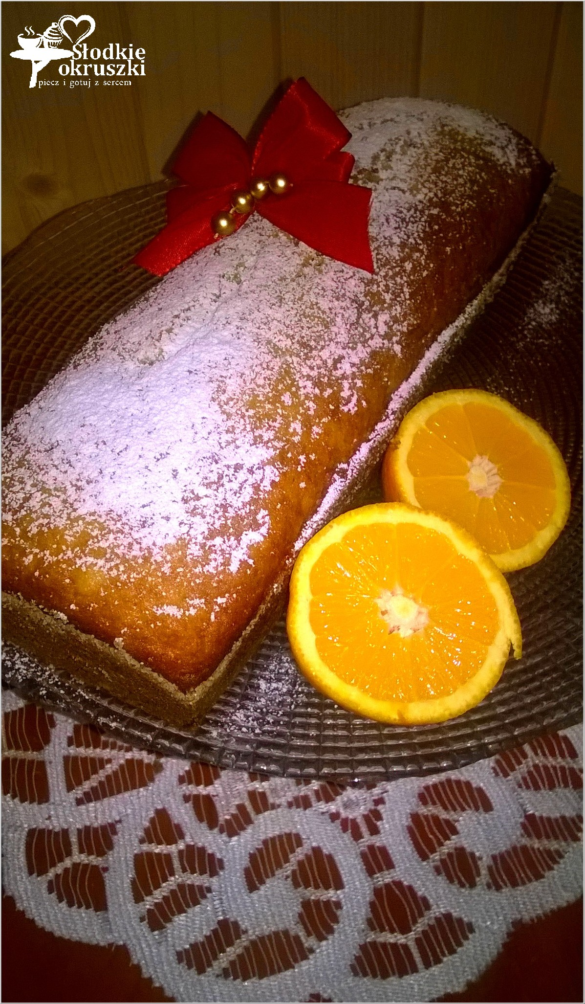 Szybkie pomarańczowe ciasto
