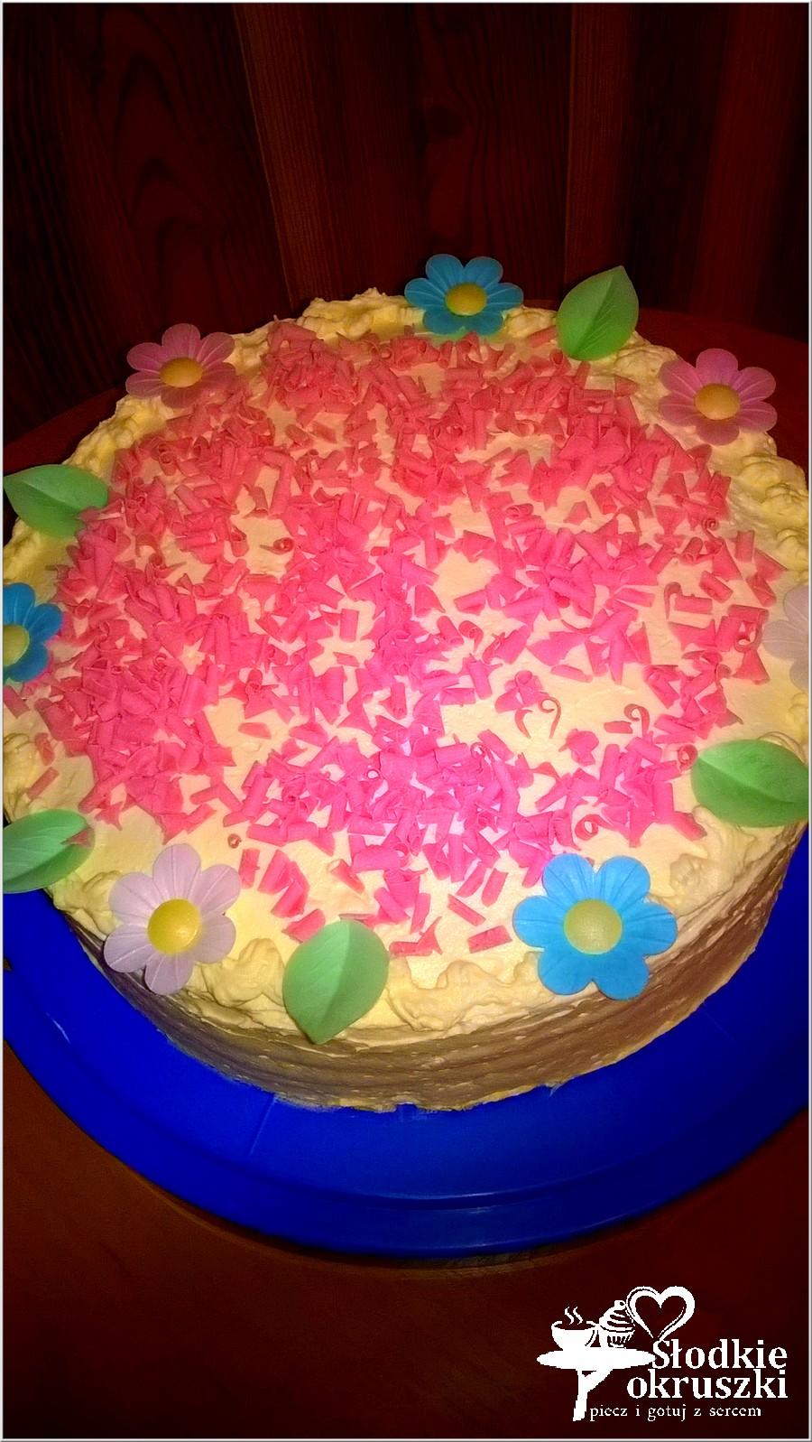 Tort urodzinowy mojej kochanej księżniczki (1)