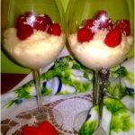 Zdrowy deser a la rafaello (z kaszy jaglanej)