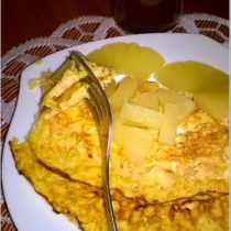 Zdrowy omlet marchewkowy