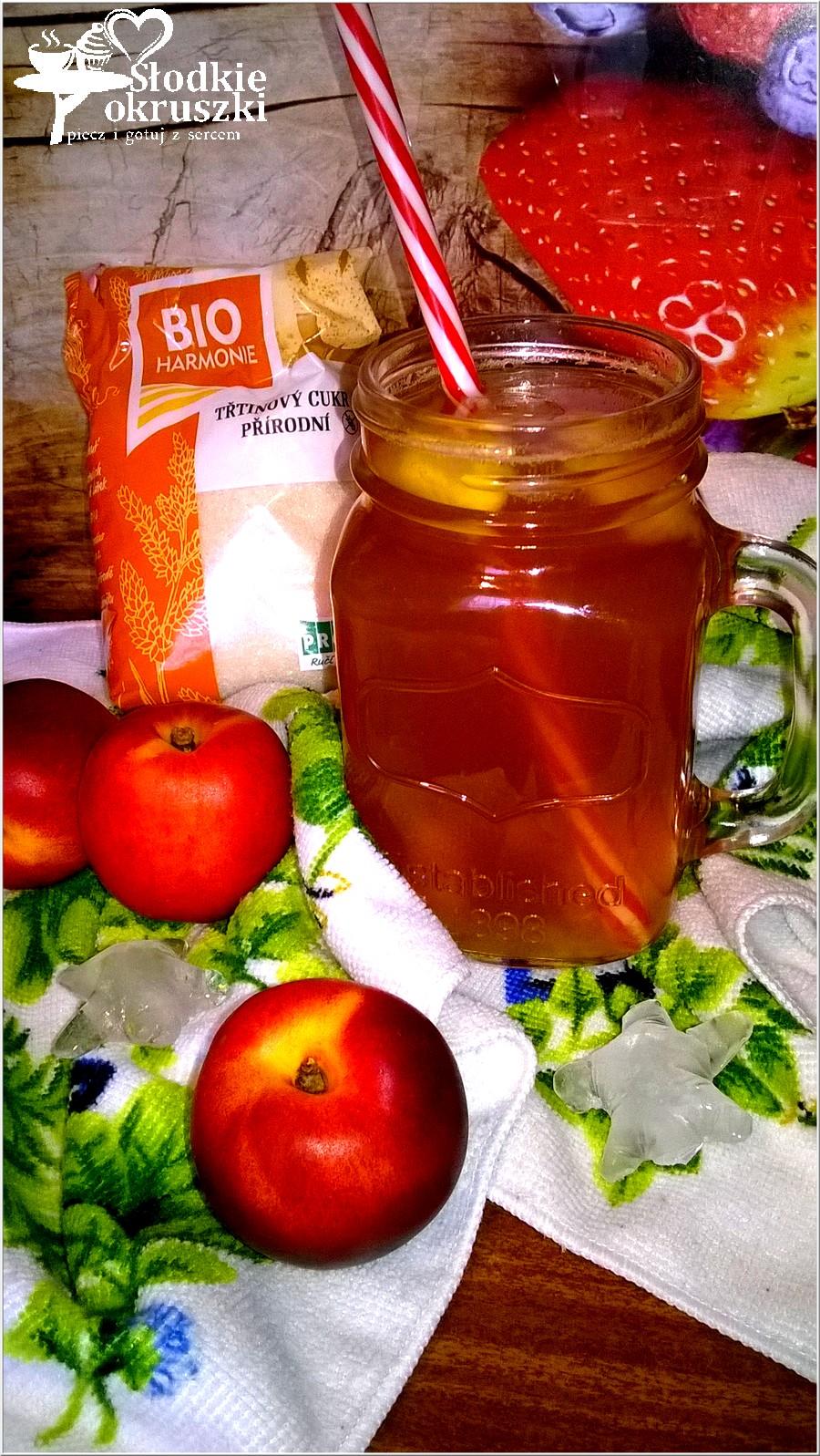 Mrożona herbata nektarynkowa (2)