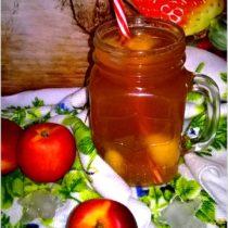 Mrożona herbata nektarynkowa (3)