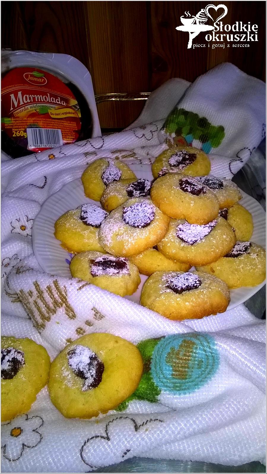 Najłatwiejsze ciasteczka z marmoladą Jamar