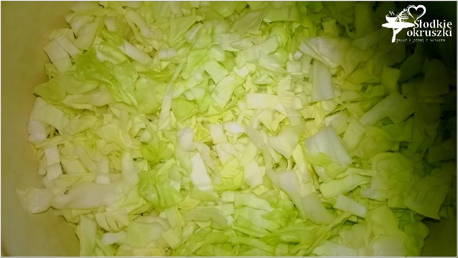 Najprostsze łazanki z białej kapusty. Pyszny i tani obiad. (2)