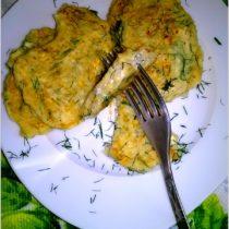 Placuszki z kaszy jęczmiennej z białym serem i koperkiem (3)