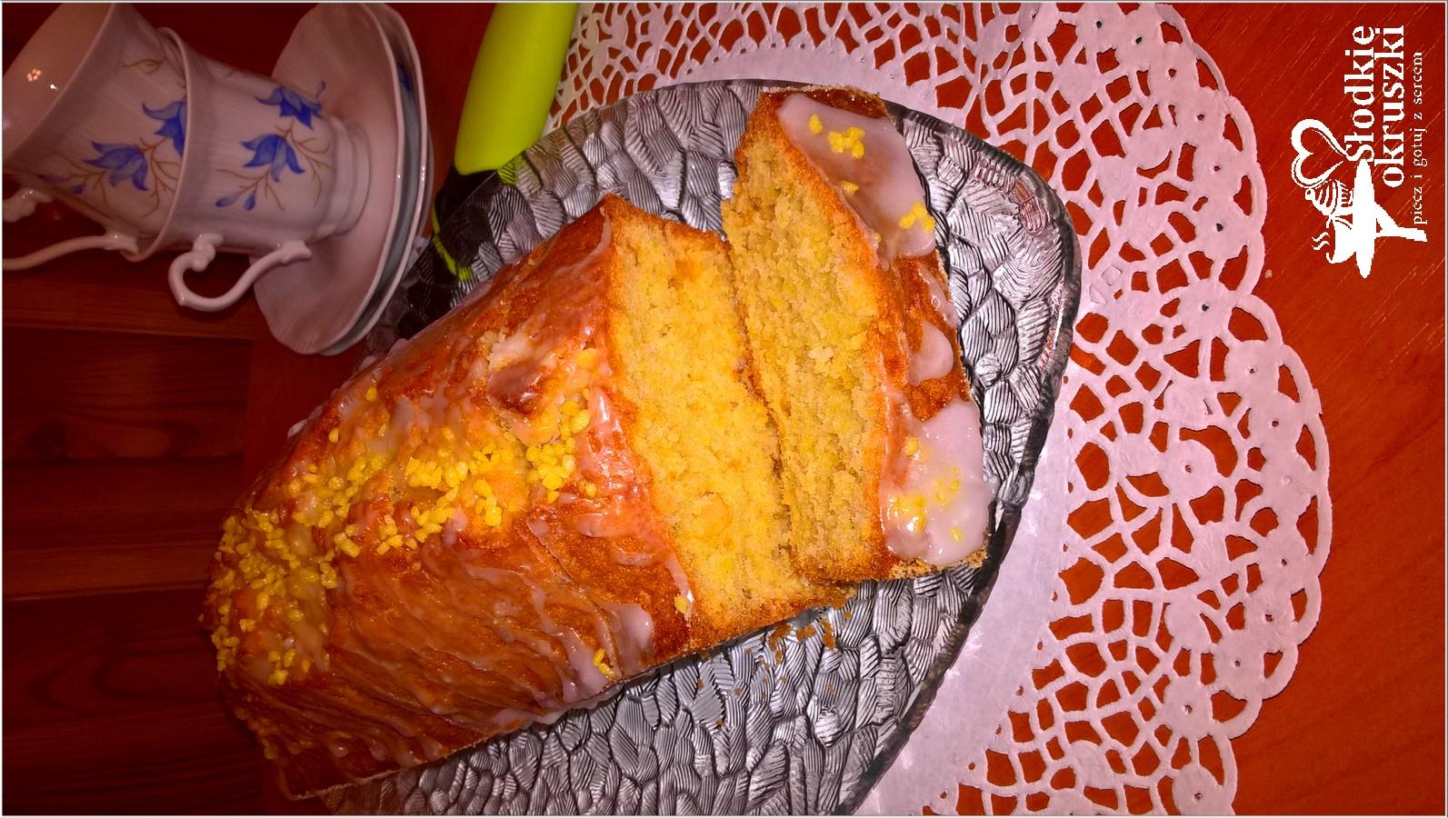 Babka z pomarańczową skórką 2