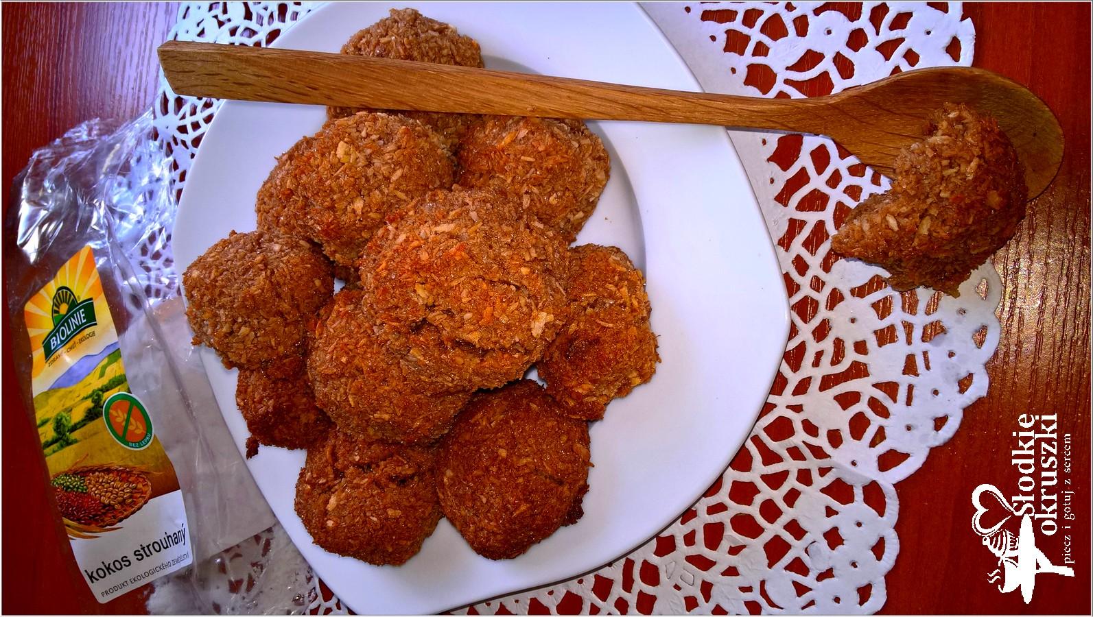 Karobowe kokoski (ciasteczka bez mąki) 2