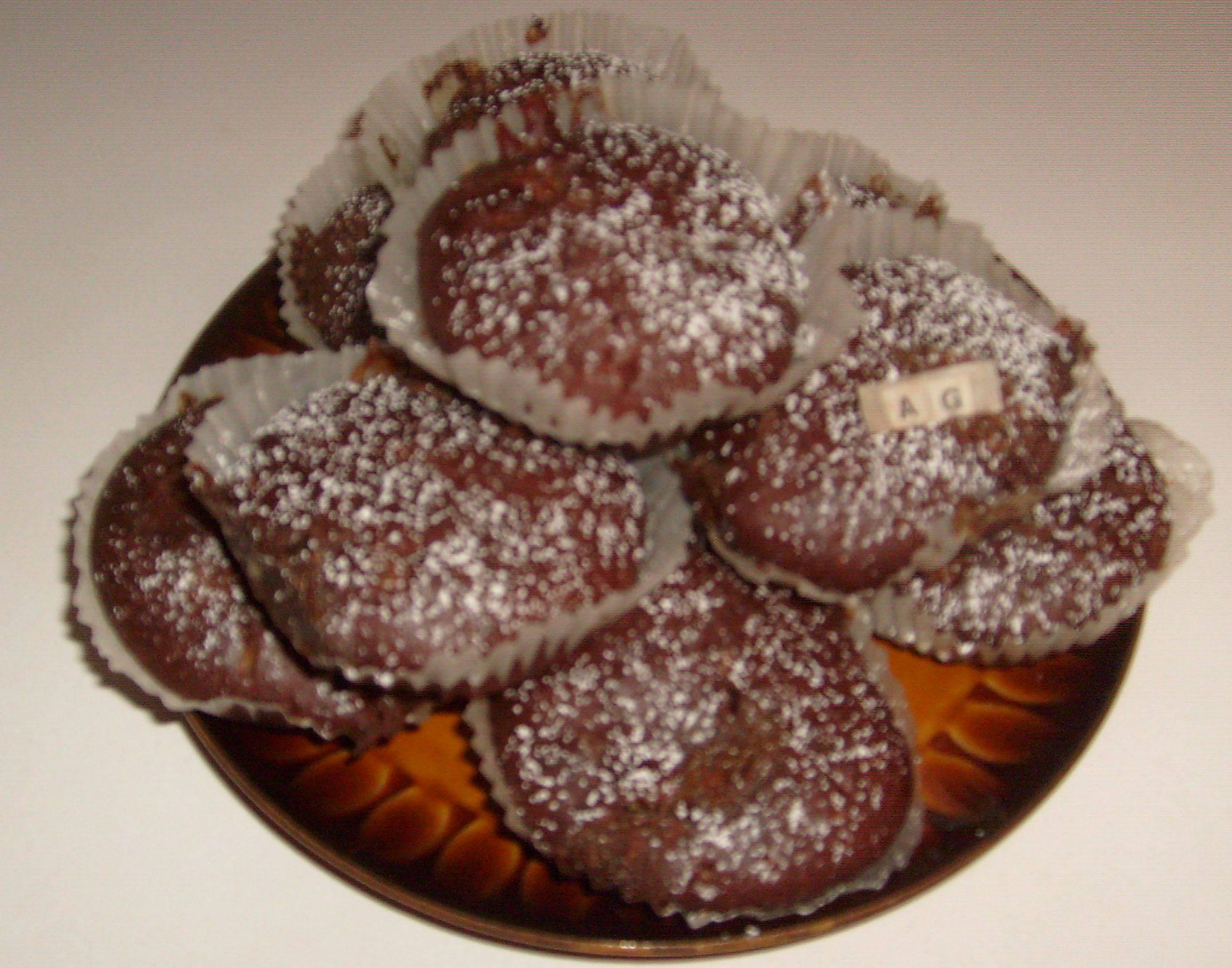 Muffinki z kawałkami białej czekolady Agnieszka G.