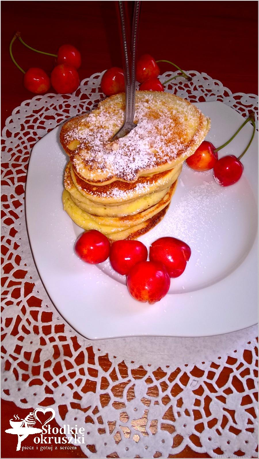 Placuszki jogurtowe na mące ryżowej. Puszyste i zdrowe śniadanie. (1)