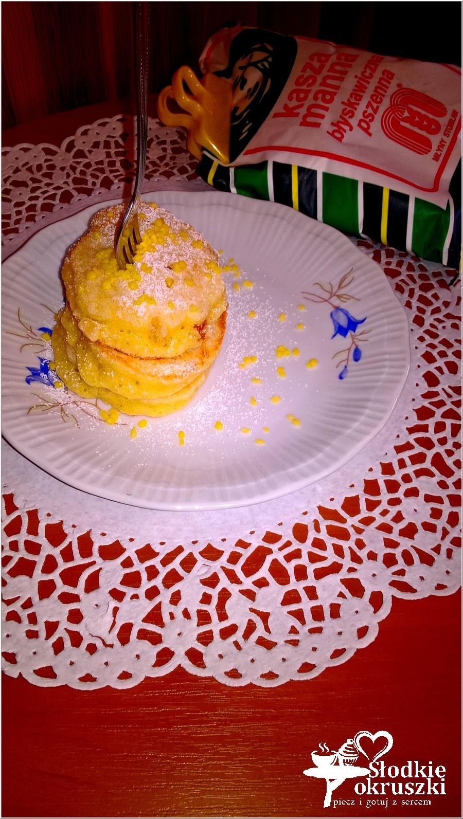 Placuszki z kaszy manny ze skórką pomarańczową (na oleju kokosowym) (2)