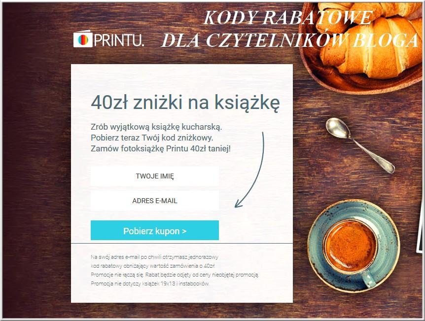 Printu - kody rabatowe dla czytelników bloga