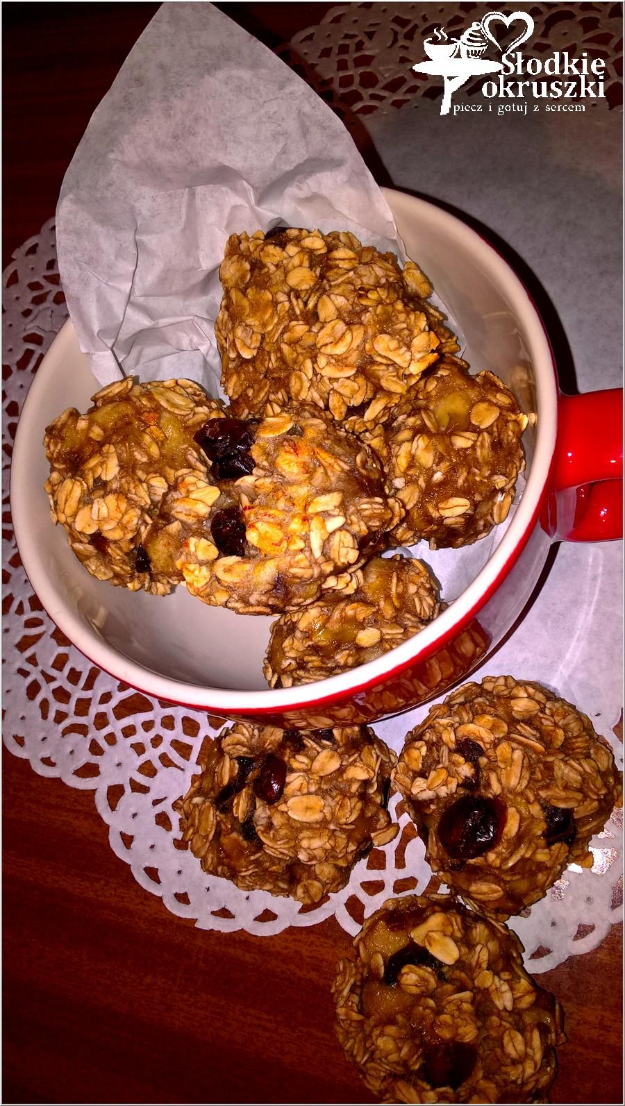 Proste i zdrowe ciasteczka owsiano-bananowe (1)