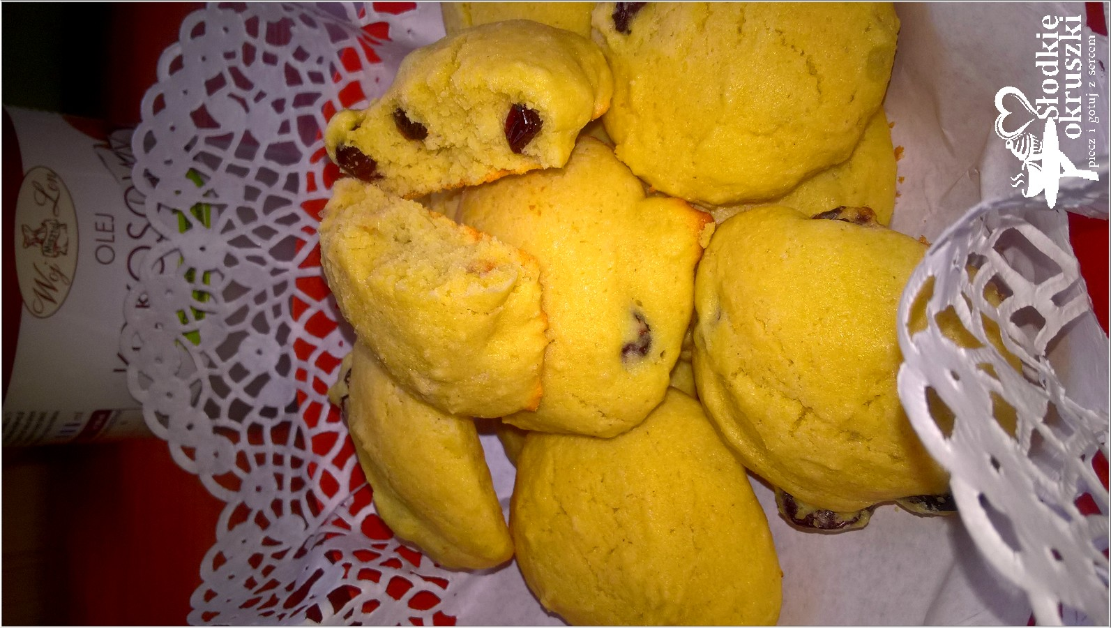 Puszyste ciasteczka na mące ryżowej z kokosową nutą(6)
