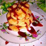 Amarantusowe placuszki z mąką ryżową i jabłkiem. Zdrowe bezglutenowe śniadanie.