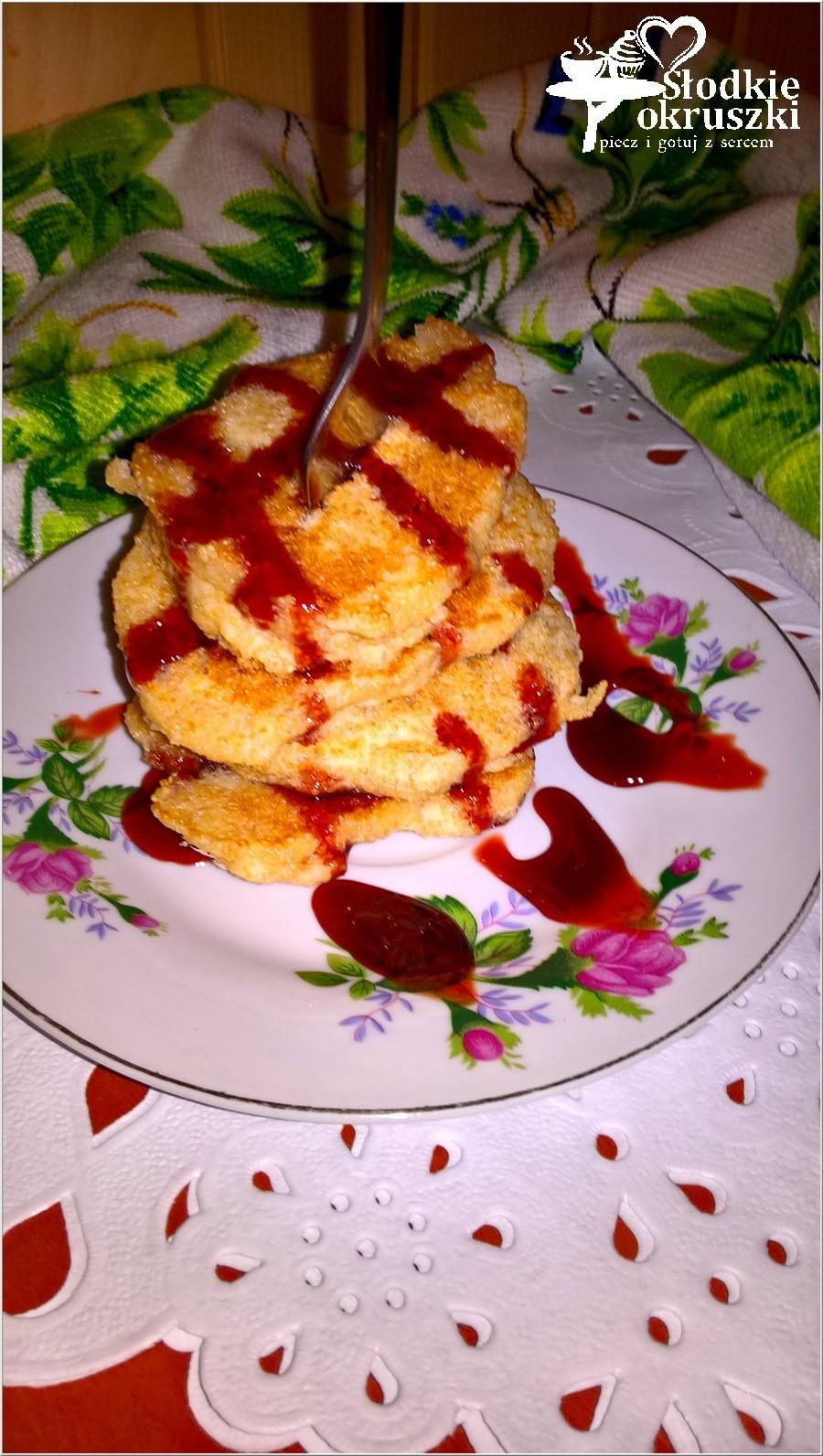 Amarantusowe placuszki z mąką ryżową i jabłkiem. Bezglutenowe śniadanie pełne zdrowia. (1)