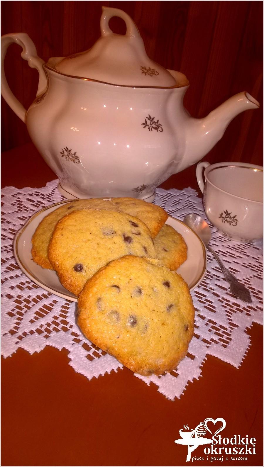 Chocolate chip cookies. Najłatwiejsze ciasteczka z kawałkami czekolady. (2)