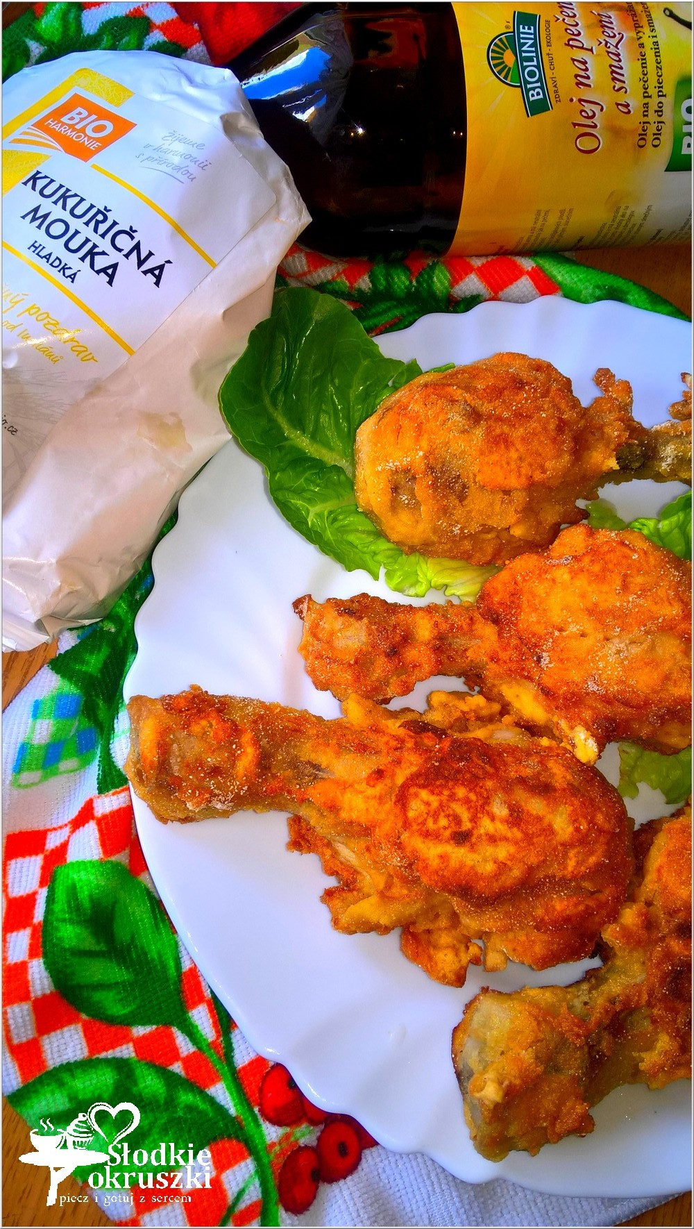 Kurczak w chrupiącej maślankowej panierce (1)