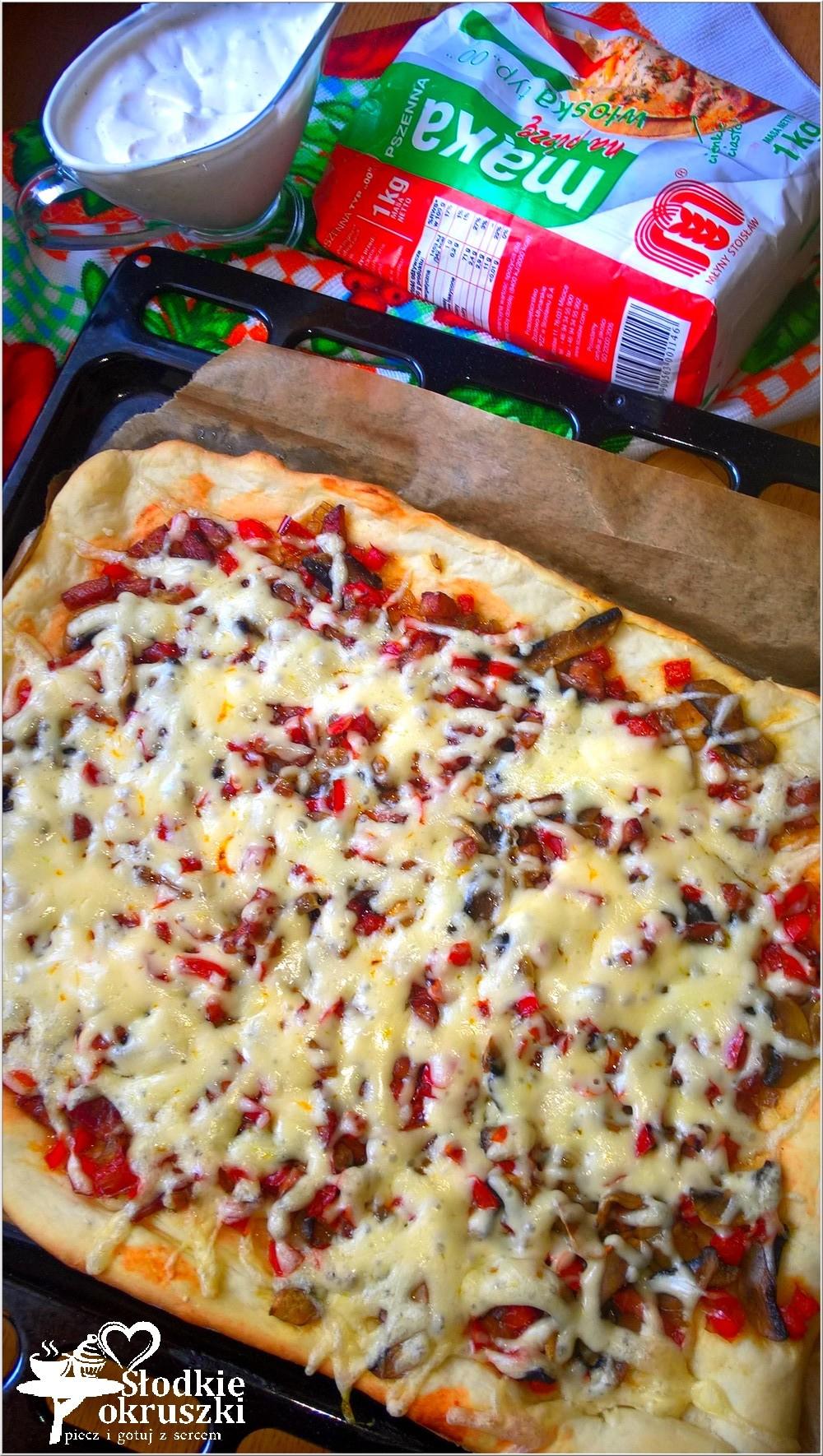 Pizza na cienkim cieście. Przepis na domową pizzę (3)