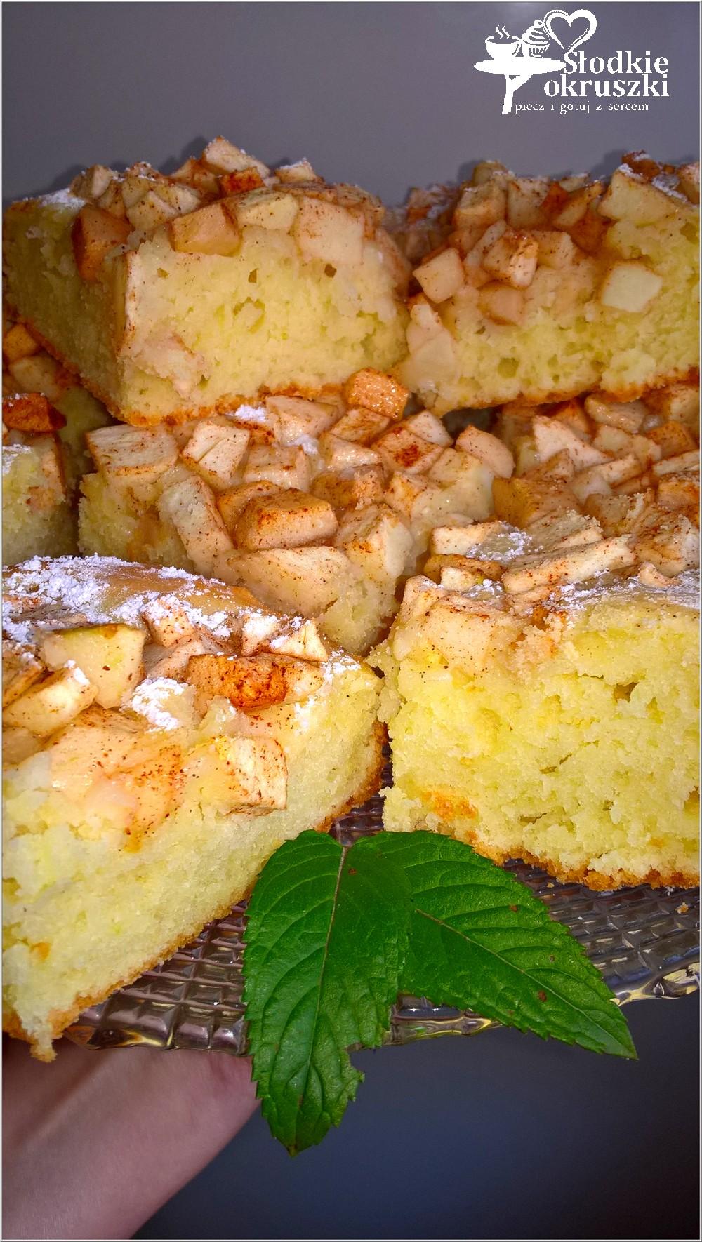 Ciasto Z Cynamonowym Jablkiem Bez Miksera Szybkie I Latwe Ciasto