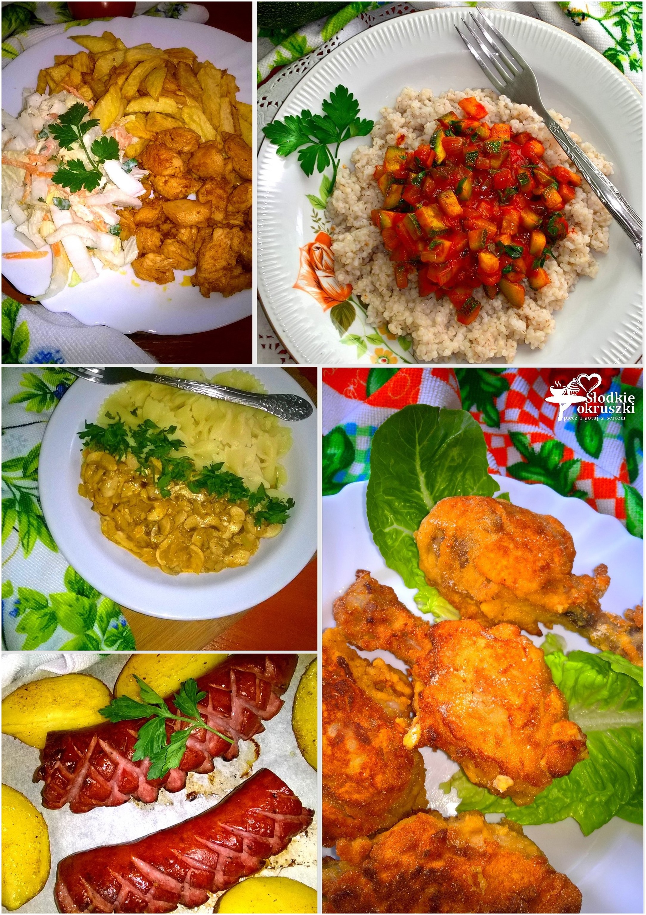 Przepisy obiadowe. 5 pomysłów na smaczny obiad.