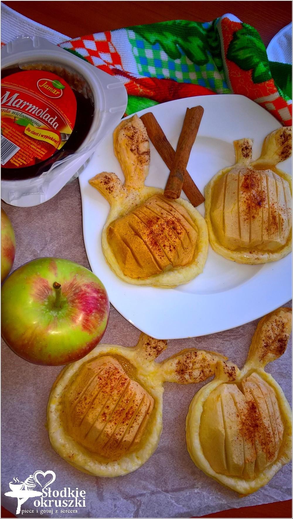 pieczone-jablka-w-ciescie-nadziane-marmolada-3