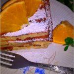 Puszysty pomarańczowo cynamonowy omlet