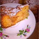 Ciasto z prażonymi jabłkami (jabłecznik)