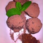Wafelkowe kuleczki kakaowe