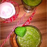Słodka Fiona, czyli zielone smoothie pełne zdrowia.