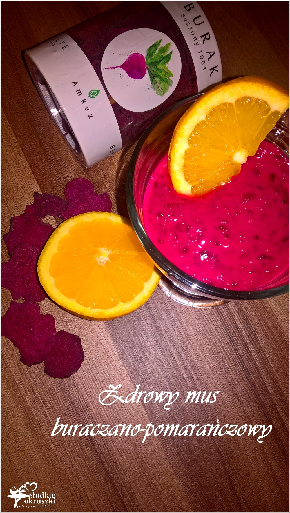 Zdrowy mus buraczano-pomarańczowy (słodki) (1)