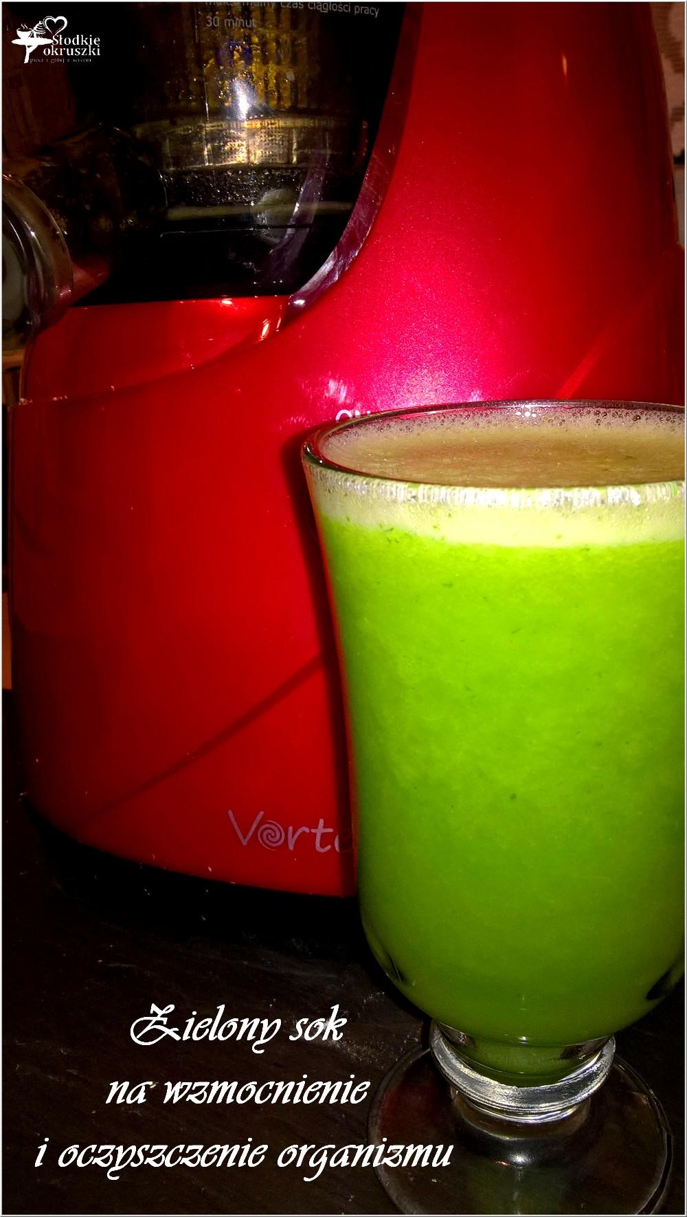 Zielony sok - wyciskarka wolnoobrotowa Vortex